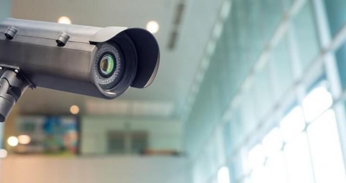 camera inside the building